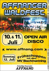 Affnanger Waldfest: 10.-12. Juli 2009