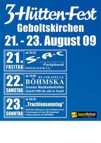 3-Hütten-Fest@Wolf'n in Geboltskirchen
