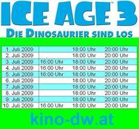 ICE AGE 3 Premiere@Kino Deutsch-Wagram