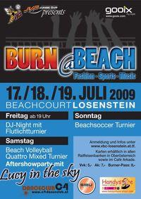 Burn@Beach Warm up@Hallenbadareal