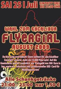 Wahlt zum Excalibur Flyergirl August 2009@Excalibur