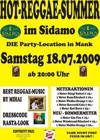 Hot Reggae-Summer im Sidamo@Cafe Sidamo Mank