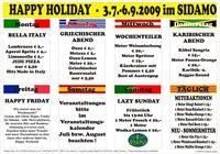 Happy Holiday - Wochenteiler im Sidamo@Cafe Sidamo Mank