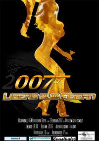 """Maturaball """"007 Lizenz zum Feiern""""@Museum Arbeitswelt"""