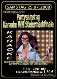 Karaoke WM Steiermarkfinale@Happy Nite