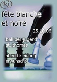 Fête blanche et noire@Gasthaus Ahorner