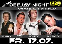 Great DJ Night on Mystic´s Birthday