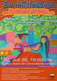 11. Internationale Cantus MM Chor- und Orchesterfestival@Großes Studio der Universität Mozarteum