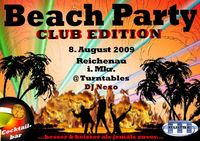 Beach Party Reichenau Club Edition@Freibad Reichenau