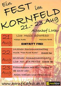 Gruppenavatar von EIN FEST IM KORNFELD 21.-23. Aug. 09 in Altenhof i.M.