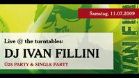 Live @ the turntables: Dj Ivan Fillini@A-Danceclub