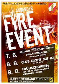 Axberger Fire Event - Tag 2@Axberger FireEvent