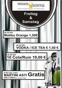 Martini Asti Spezial@Bierpub Krügerl
