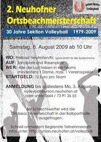 2. Neuhofner Ortsbeachmeisterschaft@Freibad Neuhofen an der Krems
