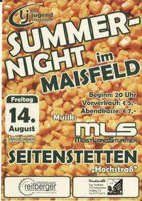 Summernight im Maisfeld@Maisfeld