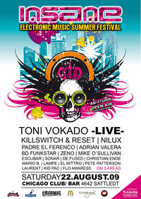 INSANE - Electronic Music Summer Festival@Chicago
