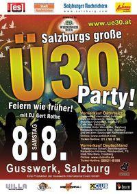 Ü30 @ Gusswerk Salzburg