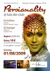 Persianality - Persian Dance Fever@lutz - der club