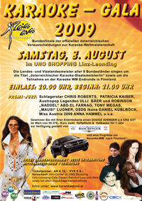 Karaoke – Gala 2009