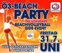 Ö3-Beachparty 2009@Universität Klagenfurt
