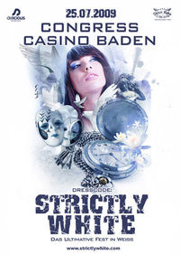 Strictly White - das Ultimative Fest in Weiss@Casino