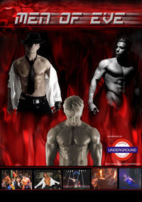 Men of Eve Menstrip Show@Club Kogler