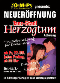 Eröffnung Tanz-Stadl