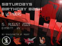 Gruppenavatar von Saturdays Birthday Bash@Weinberg