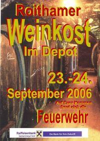 Roithamer Weinkost@Feuerwehrdepot