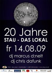 20 Jahre Stau - das Lokal@Stau - Das Lokal