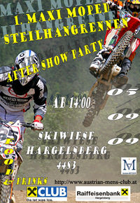 1. Maxi Moped Steilhangrennen@Skiwiese