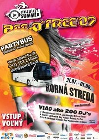 Party Bus BeeFree 2009@Parkovisko TPD