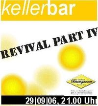 Kellerbar-Revival Part IV@Gasthaus Baumgartner