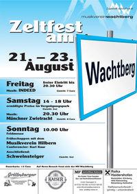 Zeltfest am Wachtberg@Wachtberg