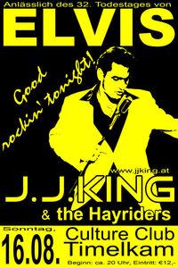 Elvis - J.J. King & the Hayriders - Good rockin tonight@Culture Club