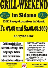 Grill-Weekend im Sidamo@Cafe Sidamo Mank