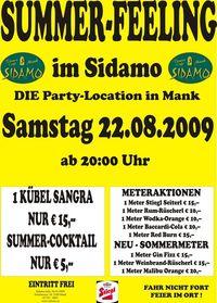 Summer-Feeling im Sidamo@Cafe Sidamo Mank