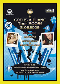 God is a DJane Tour 2009@Excalibur