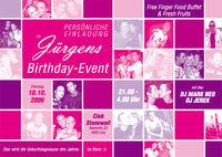Jürgens Birthday Event@Stonewall