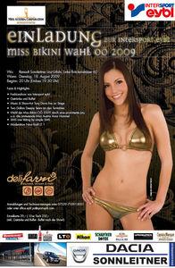 Miss Bikini OÖ Finale 2009@Autohaus Sonnleitner