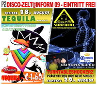 P2 Discozelt @ INFORM - Tequila Party mit DJ Heavytones & DJ X-TREME@P2 Discozelt @ Inform