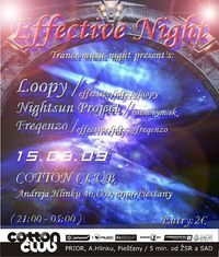 Effective Trance Night@Cotton Club
