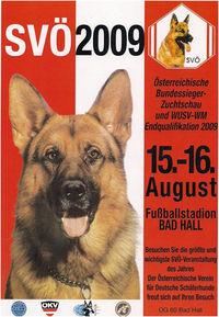 Bundessiegerzuchtschau und WM Endqualifikation der Deutschen Schäferhunde@Sportplatz Bad Hall