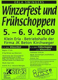 Winzerfest der Erla Swingers@Betriebshalle JK Beton Kirchweger