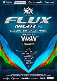Flux Night vol. 3@Panter Club