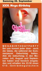 XXXL Birthday
