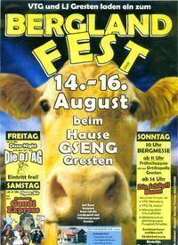 Gruppenavatar von ٠•● ► BERGLANDFEST 2009٠•● ►  i bin dabei:)