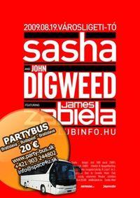 Partybus na Sasha & John Digweed@Parkovisko TPD