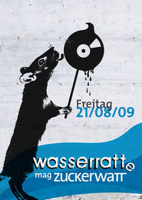 Wasserratt(e) mag Zuckerwatt mit Terence Fixmer@Badeschiff