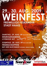 Weinfest - Freiwillige Feuerwehr Stadt Haag@Feuerwehr Haus Stadt Haag